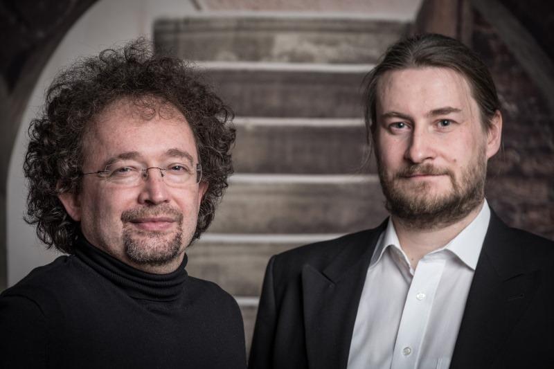 Bernhard Hennen und Robert Corvus
